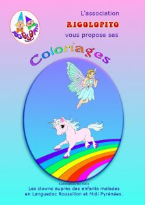 1 couverture coloriages
