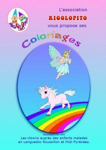 1 couverture coloriages